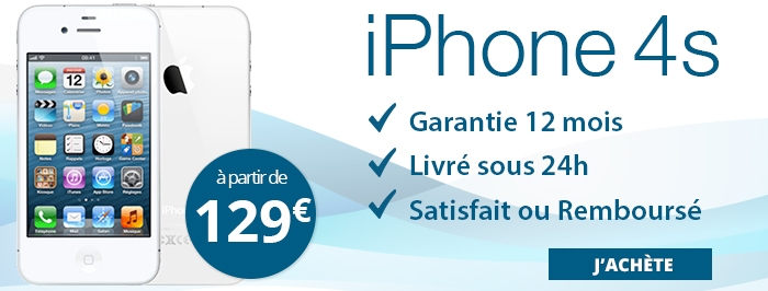 Promotion iPhone 4s 129€
