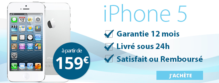 Promotion iPhone 5