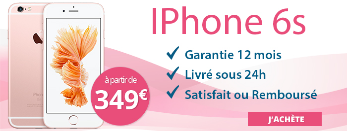 Promotion iPhone 6s