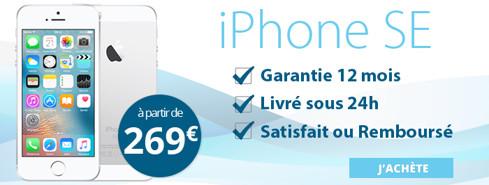 Promotion iPhone SE