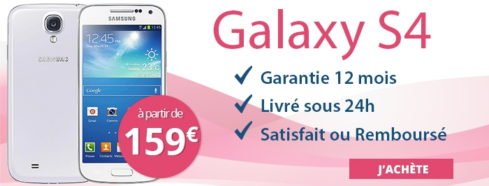 Promotion Samsung Galaxy S4